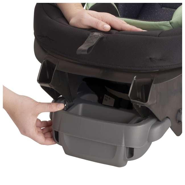 38312267 Evenflo Stratos 65 Forward/Rear Facing Convertible Car Seat, Pikes Peak Black 10