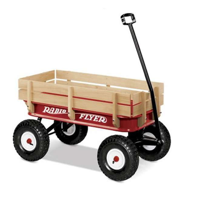 32Z Radio Flyer Full Size All-Terrain Steel and Wood Wagon 1