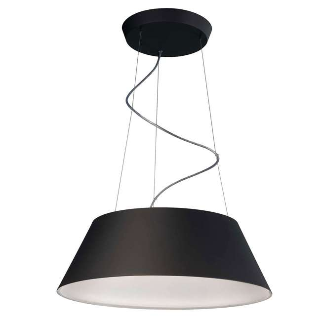 3 x PLC-405503048 Philips 405503048 Ledino Cielo Pendant Light, Black (3 Pack) 1