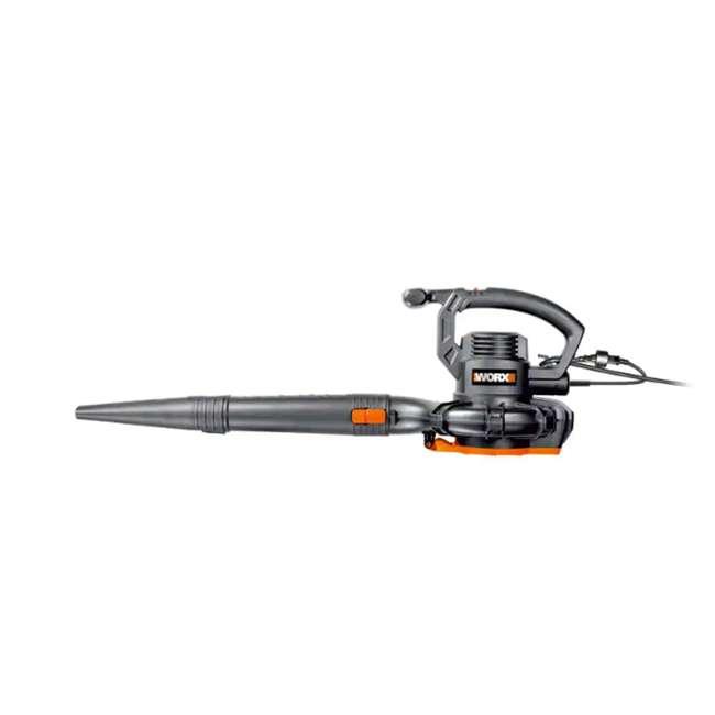 WG507 Worx WG507 Electric 2 Speed 12 Amp Home Handheld Leaf Blower Mulcher and Vacuum 3