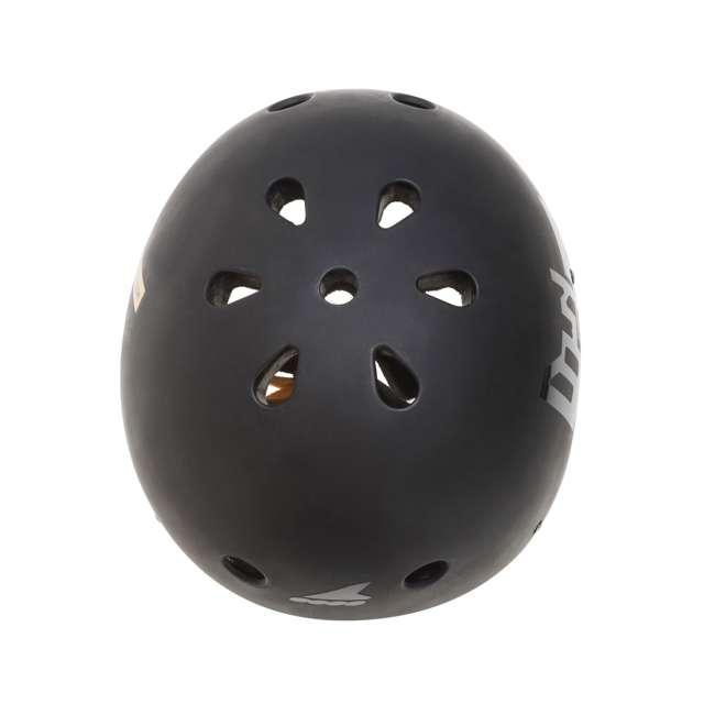 7955300500-6 + 06320200001-M + 067H0310800-L Rollerblade USA Women's Size 6 Rollerblades + Pads + Helmet 11
