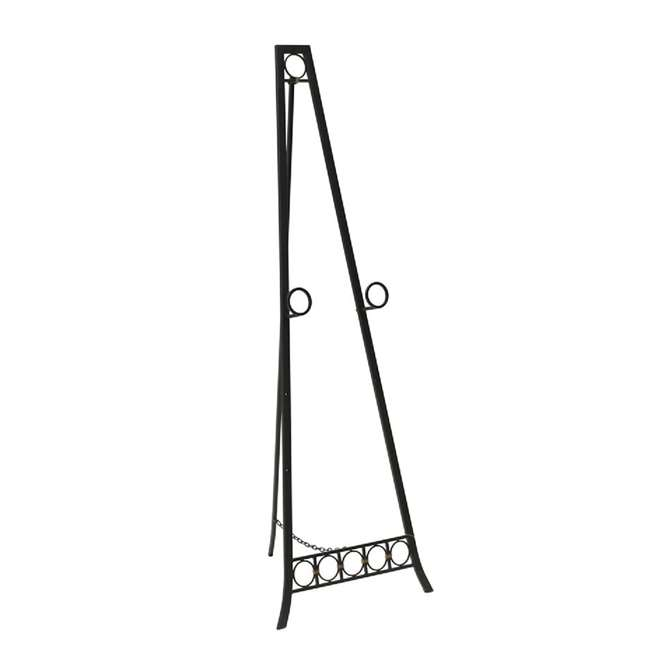 SC-FP6579 Abode 84 56-Inch Metal Adjustable Decorative Floor Easel (2 Pack) 1