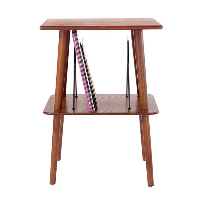 ST66-PA Crosley Manchester Hardwood Turntable Stand, Paprika 2