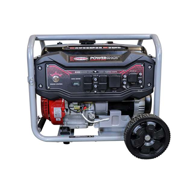 SMPSN-GN-SPG8310E-70008-RB Simpson 8300-Watt Portable Generator (Certified Refurbished) 1