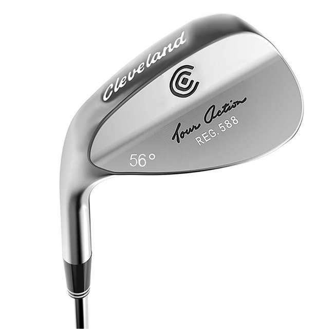 4716-588-L56 Cleveland Golf 588 56-Degree Tour Action Wedge, Left-Handed