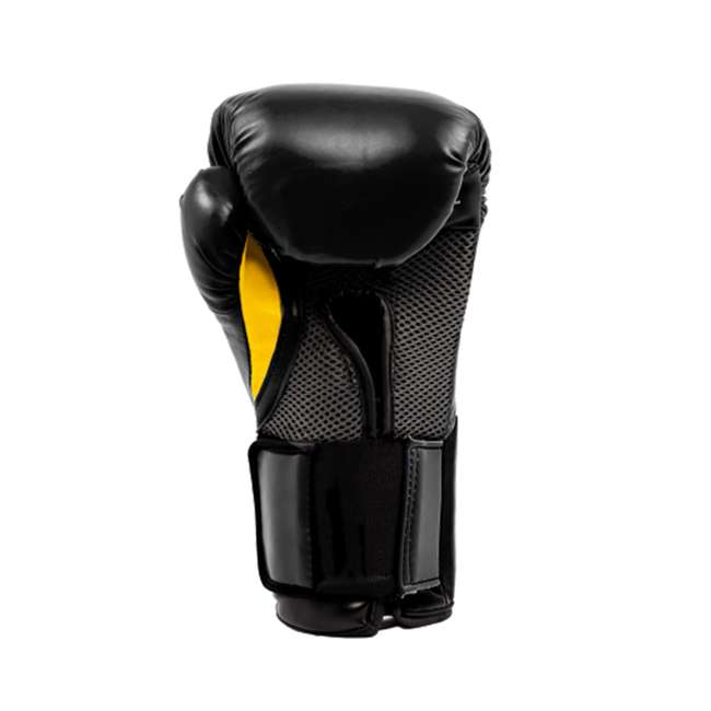 P00001240 + 4455-3 Everlast Boxing Gloves Size 12 Ounces & Hand Wraps (3 Pack) 4