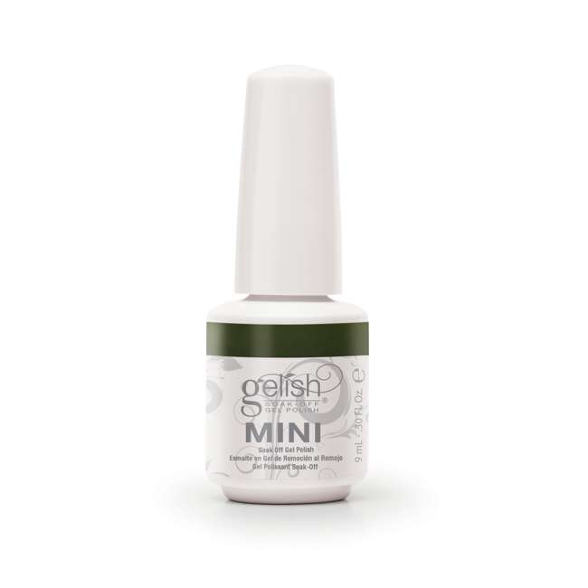 12 x 04291-DearJohn Gelish Mini Dear Johnny Green UV Led Soak Off Gel Nail Polish Bottle 9 mL (12 Pack) 2