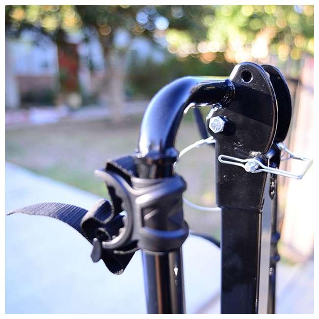 42084 + 522RR-R Kent Bikes Avigo Air Flex Steel 20 Inch Boys BMX Bike & 2 Bike Car Hitch Rack 7