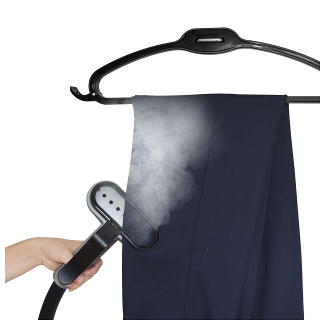 GS65-BJ-BLACK Salav GS65-BJ Wide Bar Garment Steamer with 360 Swivel Hanger 1
