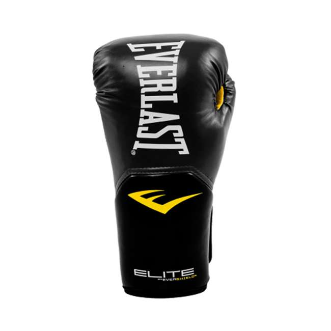 P00001240 + 4455-3 Everlast Boxing Gloves Size 12 Ounces & Hand Wraps (3 Pack) 2