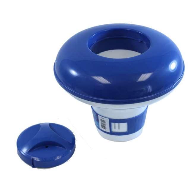 8720 + 3 x 29005E Hydrotools Chlorine Dispenser & Filter Pump (3 Pack) 1