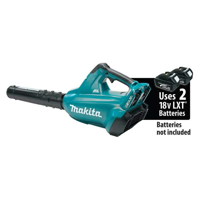 XBU02Z Makita 18-Volt X2 LXT Brushless Cordless Blower, Tool Only 5