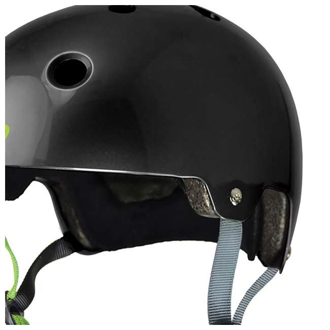 T8-3047-U-A Triple 8 Hardened Dual Certified Skate and Bike Helmet with EPS Liner, S/M 4