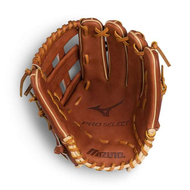 "312496.RG80.16.1275 Mizuno Pro Select Outfield 12.75"" Baseball Glove, Brown 1"