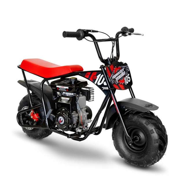 MM-B105-RBS-U-B Monster Moto 150cc Gas Off Road Mini Dirt Motor Bike w/ Suspension (Used) 1
