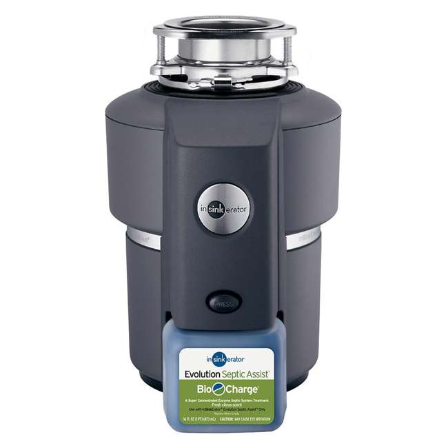 EVOLUTION-SEPTIC-ASSIST-OB InSinkErator Evolution Septic Assist 3/4HP Garbage Disposal