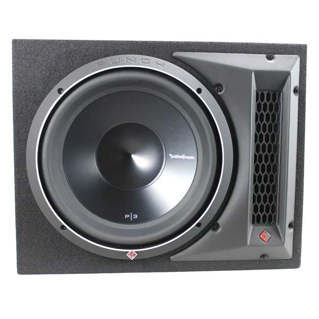 P3-1X12 Rockford Fosgate P3-1X12 12-Inch 1200W Single Loaded Subwoofer Enclosure 3