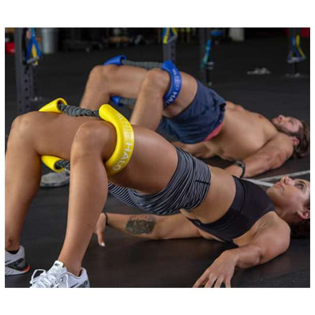 HH-B Crossover Symmetry CS Hip and Core Loop Heavy Resistance Band System, Blue 4