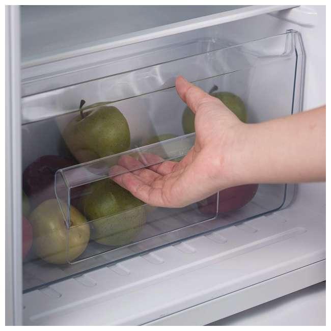 CCRD32B Commercial Cool Compact Portable 2-Door Refrigerator/Freezer (Black) 3
