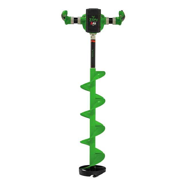 ION39350 ION G2 39350 8 Inch Lithium Ion Electric Ice Fishing Auger w/ Reverse & Battery