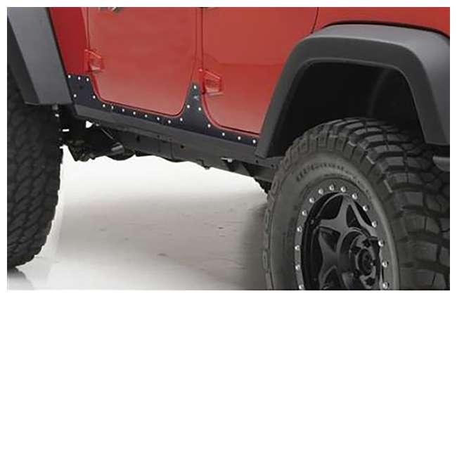 76887-SMITTYBILT Smittybilt XRC Steel Rocker Cladding for JK Wrangler Unlimited 4