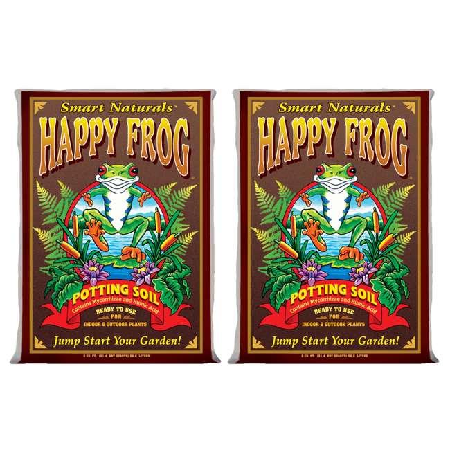 2 foxfarm fx14047 happy frog organic potting soil bags for Potting soil clearance