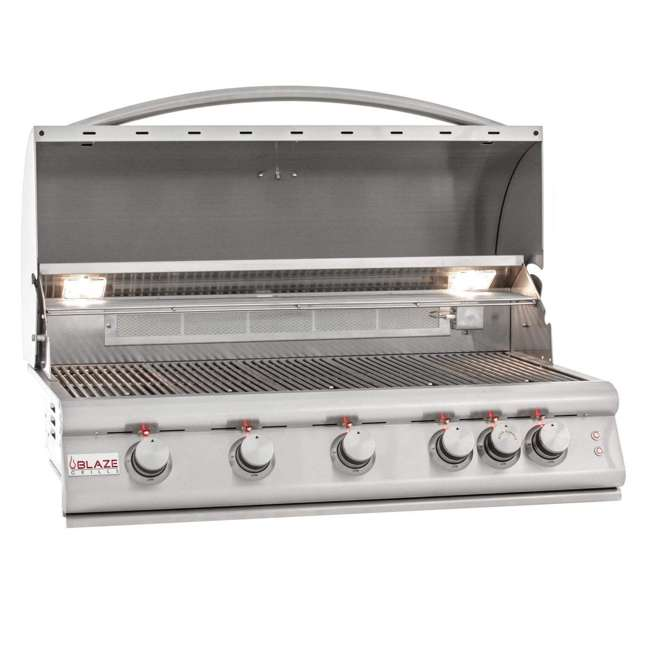 BLZ-5LTE2-LP-OB-U-a Blaze Built-In Grill with Lights, 40-inch, Propane Gas (Open Box) 1