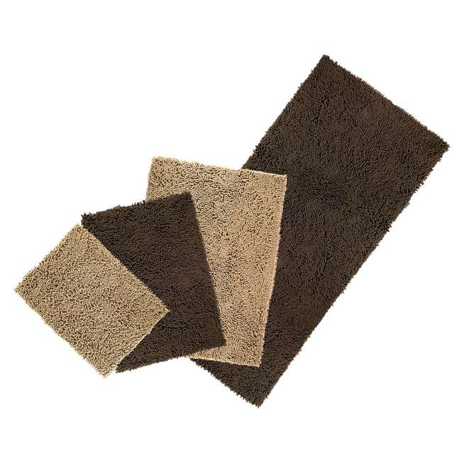 80551613 Furhaven 80551613 Jumbo Absorbent Runner Muddy Paws Towel and Shammy Rug, Sand 4