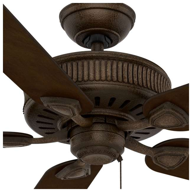 55002 Casablanca Ainsworth 60 Inch Indoor Ceiling Fan w/ Pull Chain, Provence Crackle 2