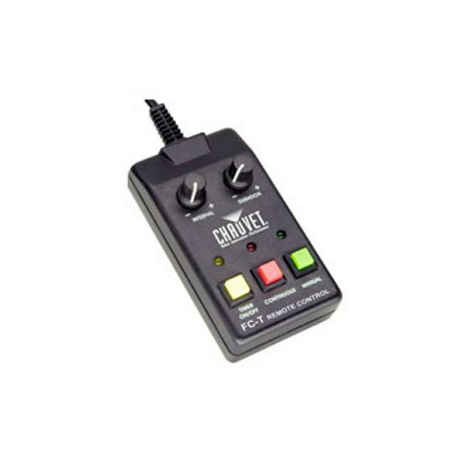 FC-T + FJU CHAUVET FC-T Wired Fog Machine Remote Timer + FJU Fog/Smoke Juice Gallon 1
