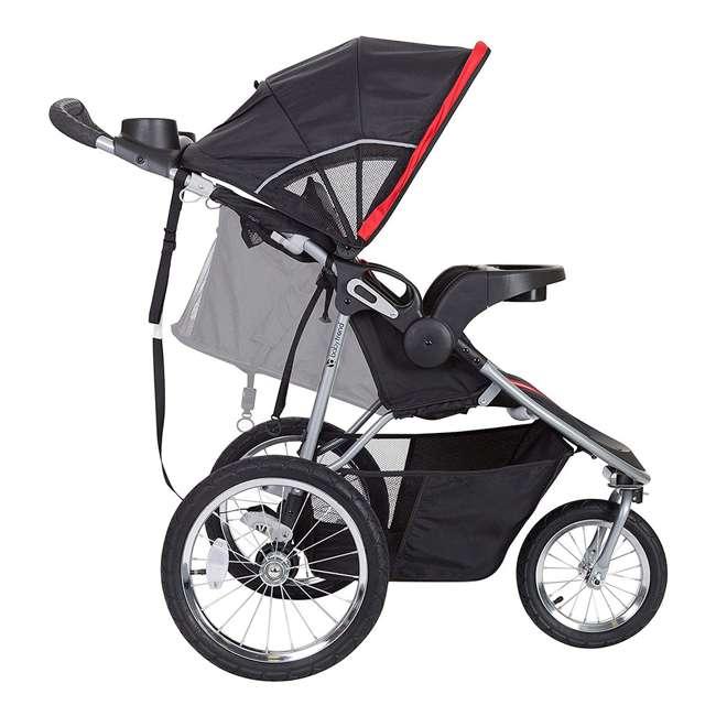 JG75B47A Baby Trend Cityscape Infant Safe Lightweight Sporty Jogger Stroller, Jolt Red 3