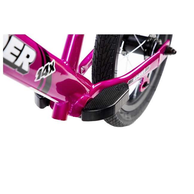 SK-SP1-US-PK Strider 14x Steel Frame Beginner Kids Learning Bicycle Balance Bike Kit, Pink 1