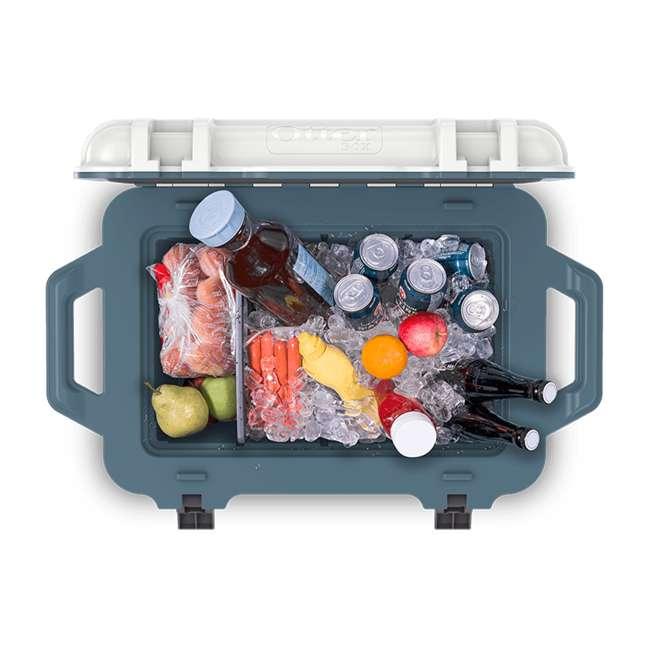77-54463 Otterbox Venture Heavy Duty Outdoor Camping Fishing Cooler 45-Quarts, Tan/Green 10