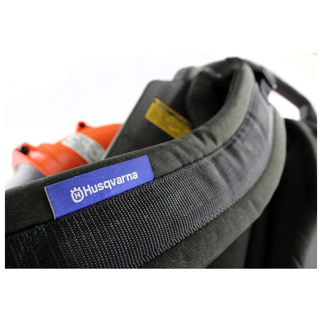 150BT-BRC-RB Husqvarna 150CC 2 Cycle Gas Leaf Backpack Blower(Refurbished)(For Parts)(2 Pack) 5