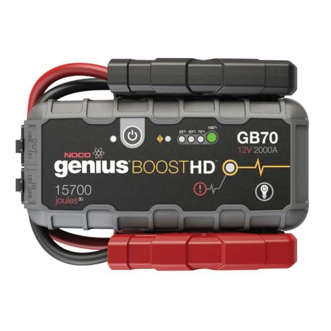 GB70 Noco Genius GB70 Boost HD 2000-Amp UltraSafe Jump Starter