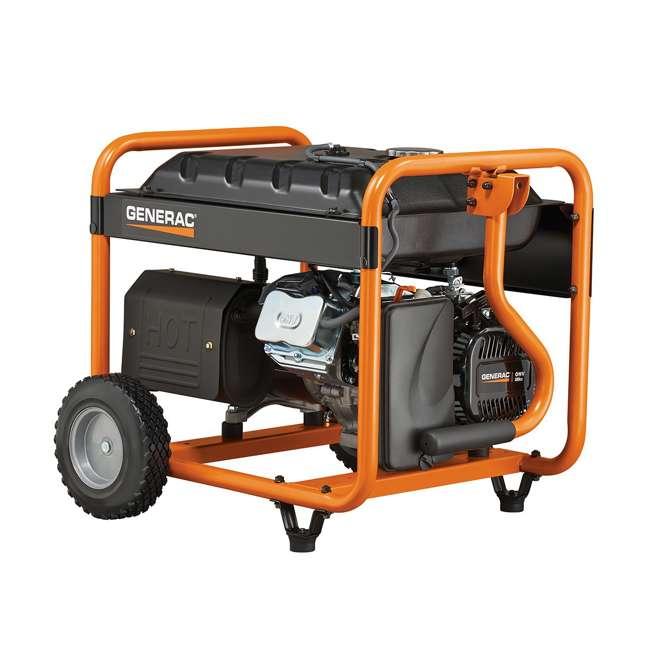 GNRC-5940 Generac 5940 GP6500 6500W Running/8125W Starting Gas Powered Portable Generator 1