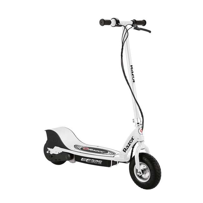 3 x 13116310 Razor E325 Adult Ride-On 24V High-Torque Motor Electric Scooter, White (3 Pack) 1