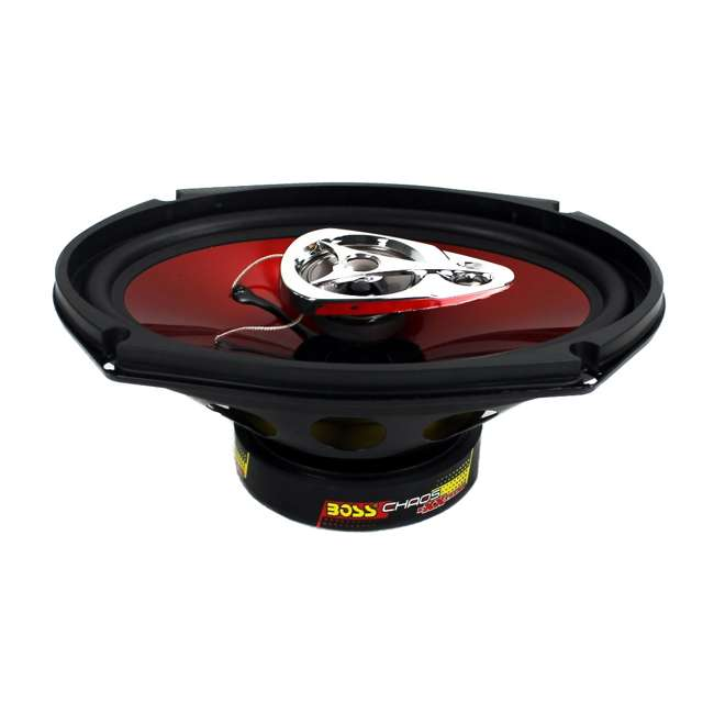 "DB5252 + CH6930 Polk Audio 5.25"" 300 Watt 2 Way + Boss 6x9"" CH6930 3-Way Speakers 10"