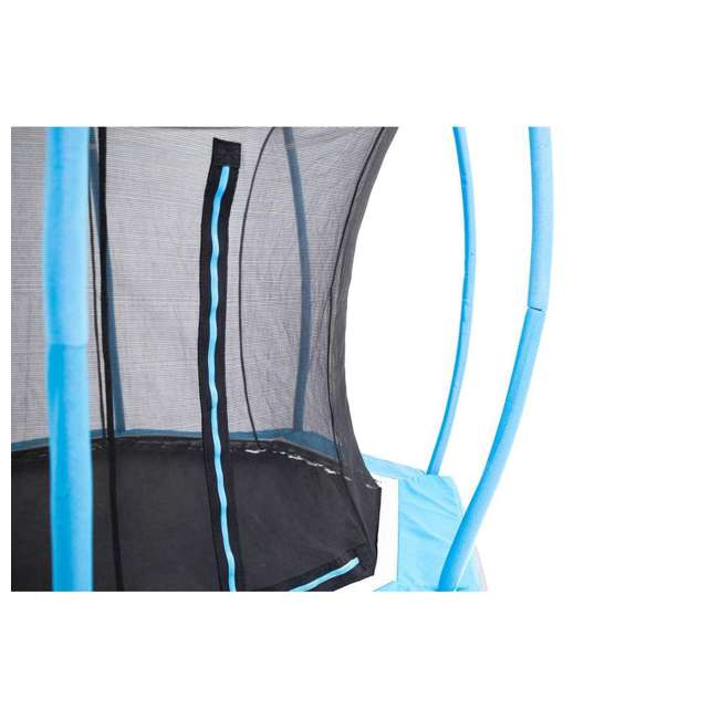SB-T08ATM02 Skybound Atmos SB-T08ATM02 8 Foot Octagonal Blue Trampoline With Safety Net 2