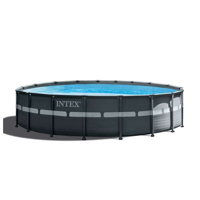 Intex 18 ft x 52 in ultra xtra frame pool set 26329eh for Intex pool handler