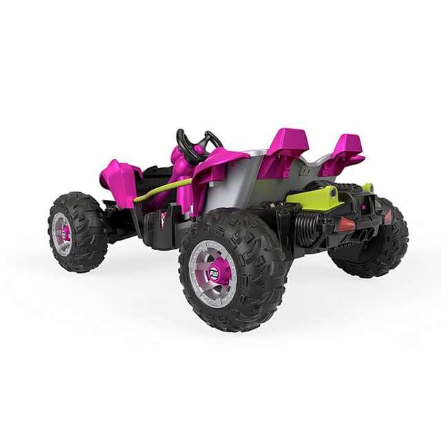 FLP27 + 74777 Power Wheels Battery Toy Car w/ Extra 12 Volt Rechargable Replacement Battery 5