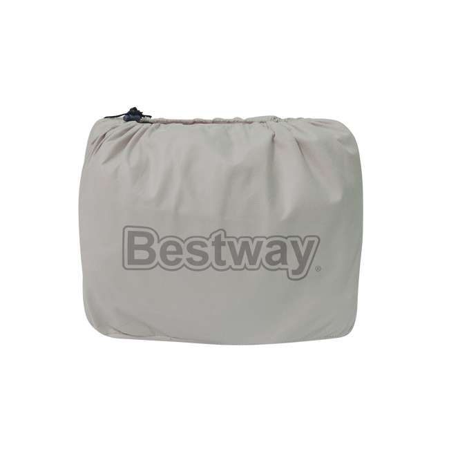 14534-BW-U-B Bestway 17 Inch Spring Air AlwayzAire Fortech Airbed with Built In Pump, Queen (Used) 5