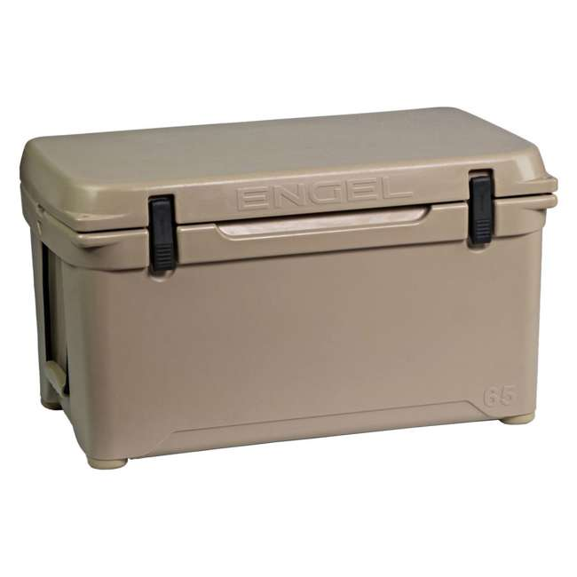 ENG65-T-OB Engel 65 High-Performance Roto-Molded Cooler, Tan(Open Box) 4