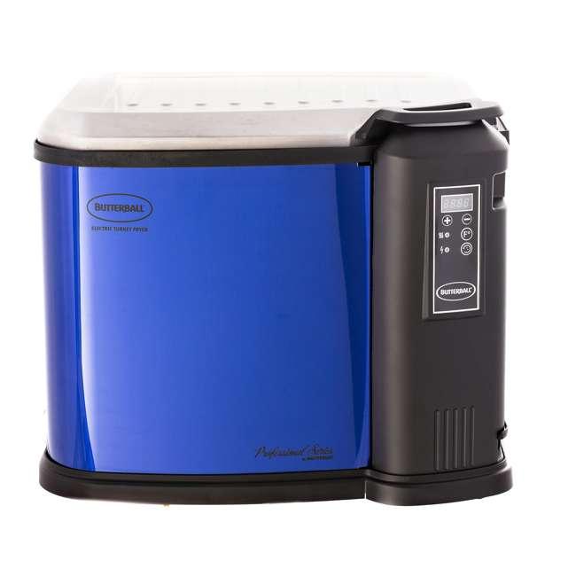 BB-MB23011618 Masterbuilt Butterball XXL Digital Electric Indoor 22 Pound Turkey Fryer, Blue
