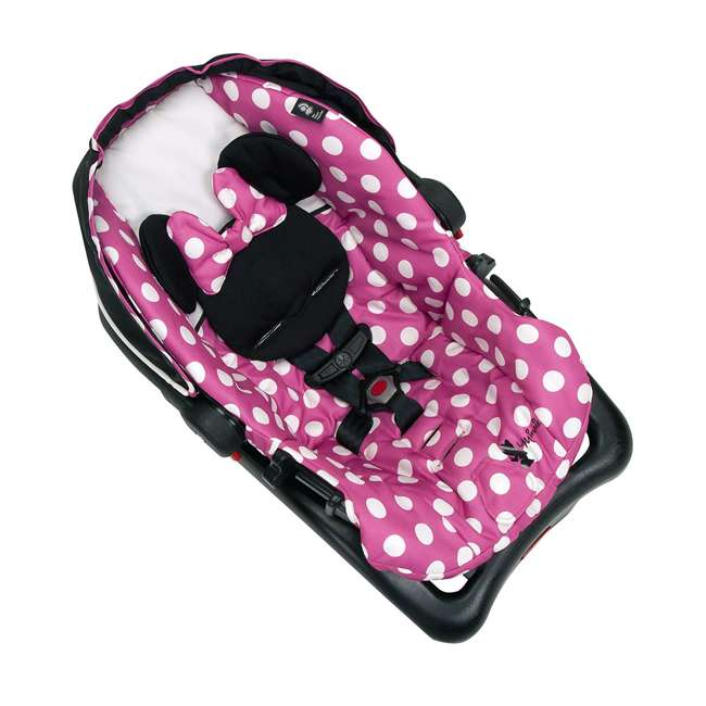 IC233BZE Disney IC233BZE Light and Comfy 22 Luxe Minnie Mouse Infant Seat, Pink 2