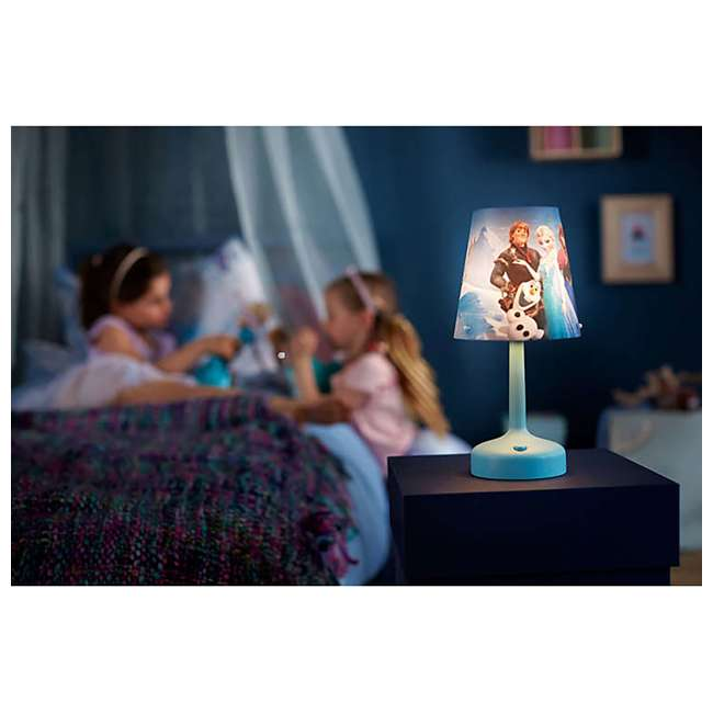 PLC-7179608U0  Philips Disney Frozen Portable Children Kids Bedside Table Lamp 6