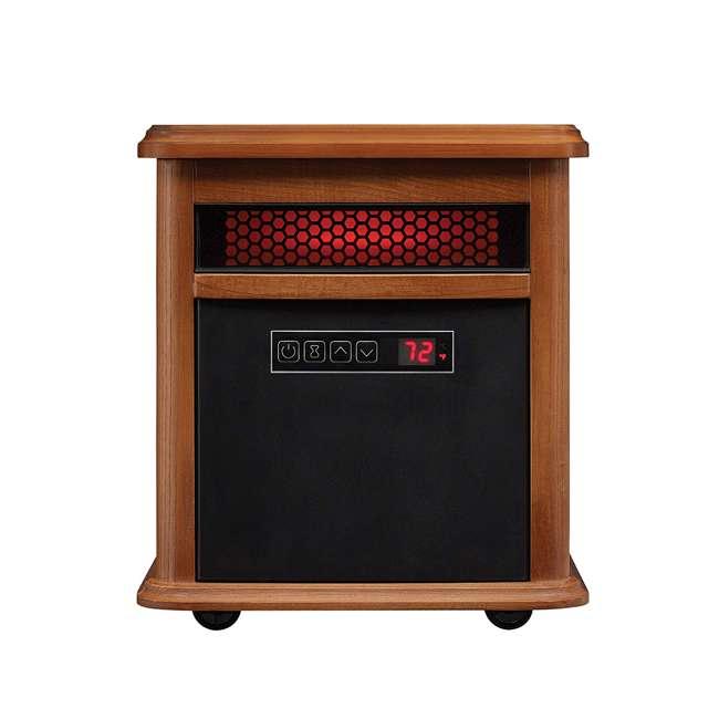 9HM9126-O142 Duraflame 1500 Watt 5200 BTU Portable Electric Infrared Quartz Room Space Heater 1