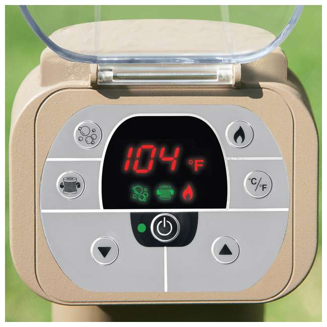 28407E + QLC-14895 Intex Inflatable Pure Spa 6-Person Hot Tub & Chemical Kit 5