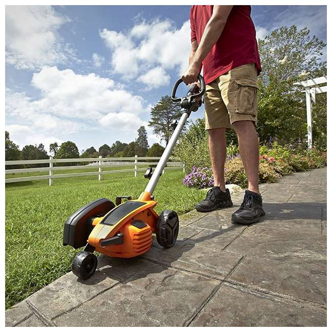 WG896 Worx 12-Amp 7.5-Inch Electric Lawn Edger and Trencher 3