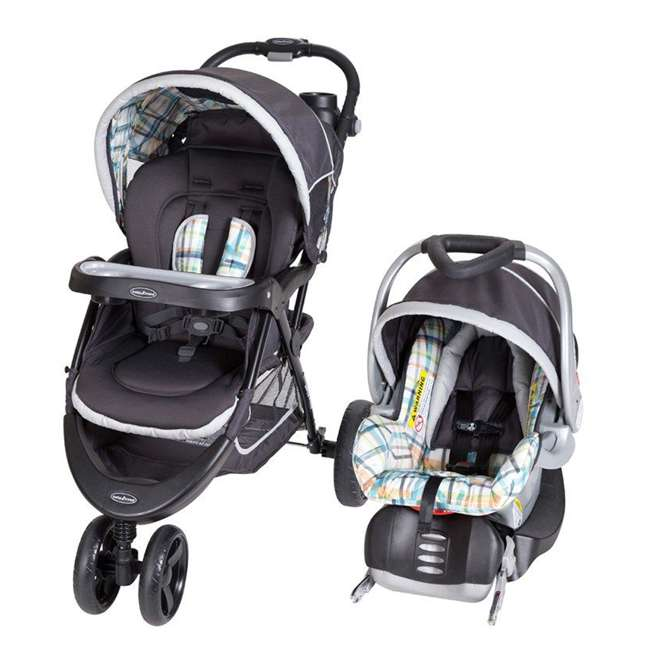 TS41A01A Baby Trend Nexton Baby Stroller & Infant Car Seat Travel System, Phunk Plaid